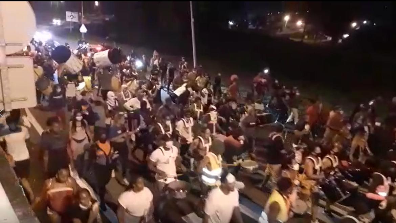 Un vidé marron rassemble au moins 800 personnes au Lamentin