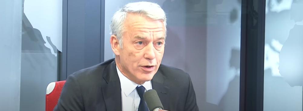 """[AUDIO] Patrick Martin, président délégué du MEDEF : """"Je suis optimiste"""""""