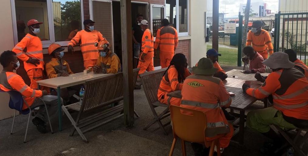 Nouveau mouvement de grève des salariés de Colas Martinique