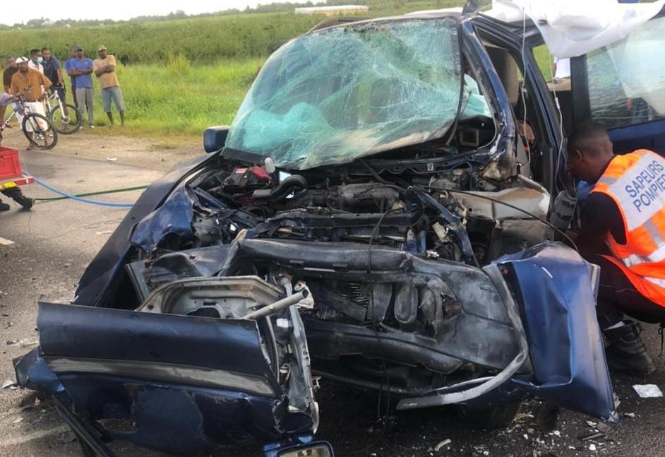 Un accident de la route aux Abymes fait deux blessés graves