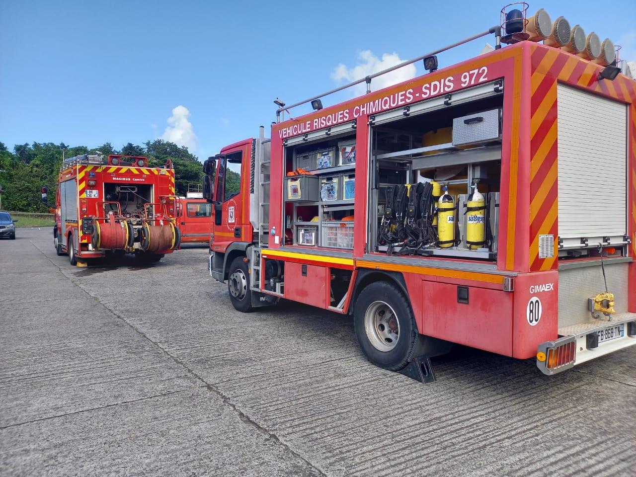 Fuite de gaz à Sainte-Marie : opération en cours à la cité Belle Étoile