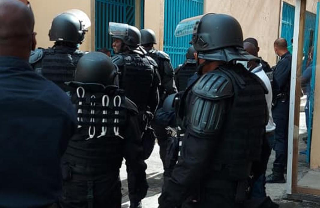 Fouille générale à la maison d'arrêt de Basse-Terre