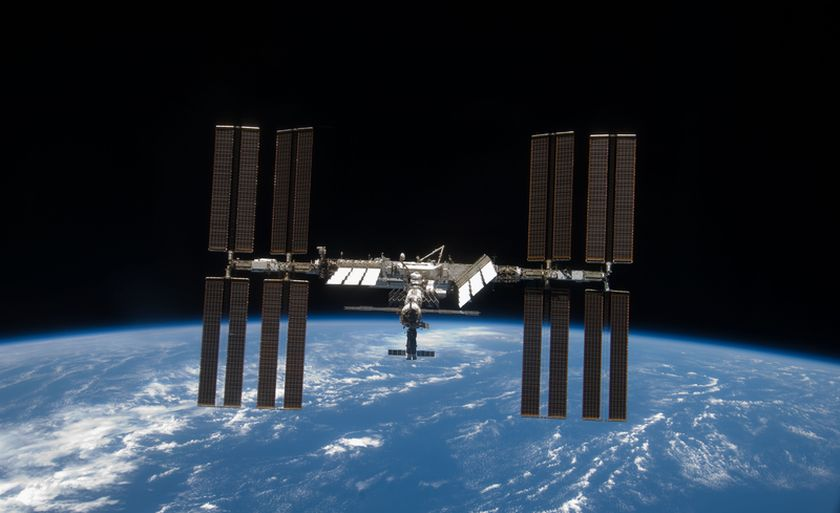 La Station Spatiale Internationale au dessus des Antilles ce soir
