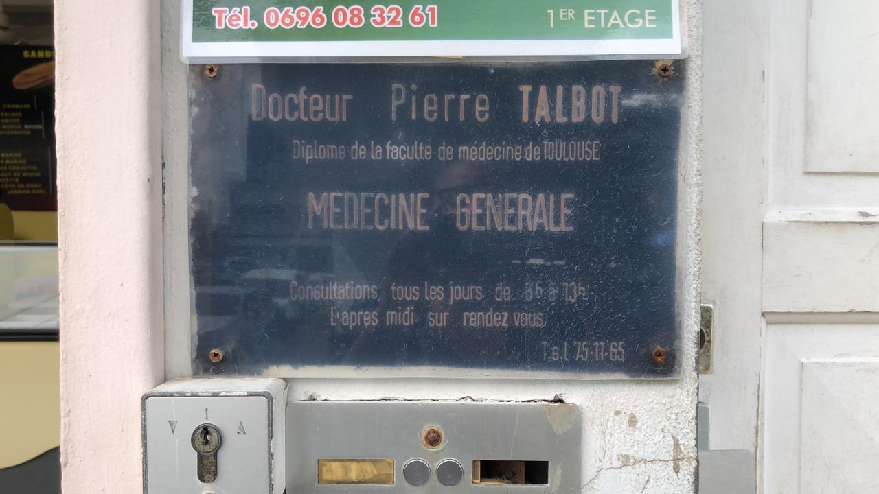 Le Robert en deuil après la mort du docteur Pierre Talbot