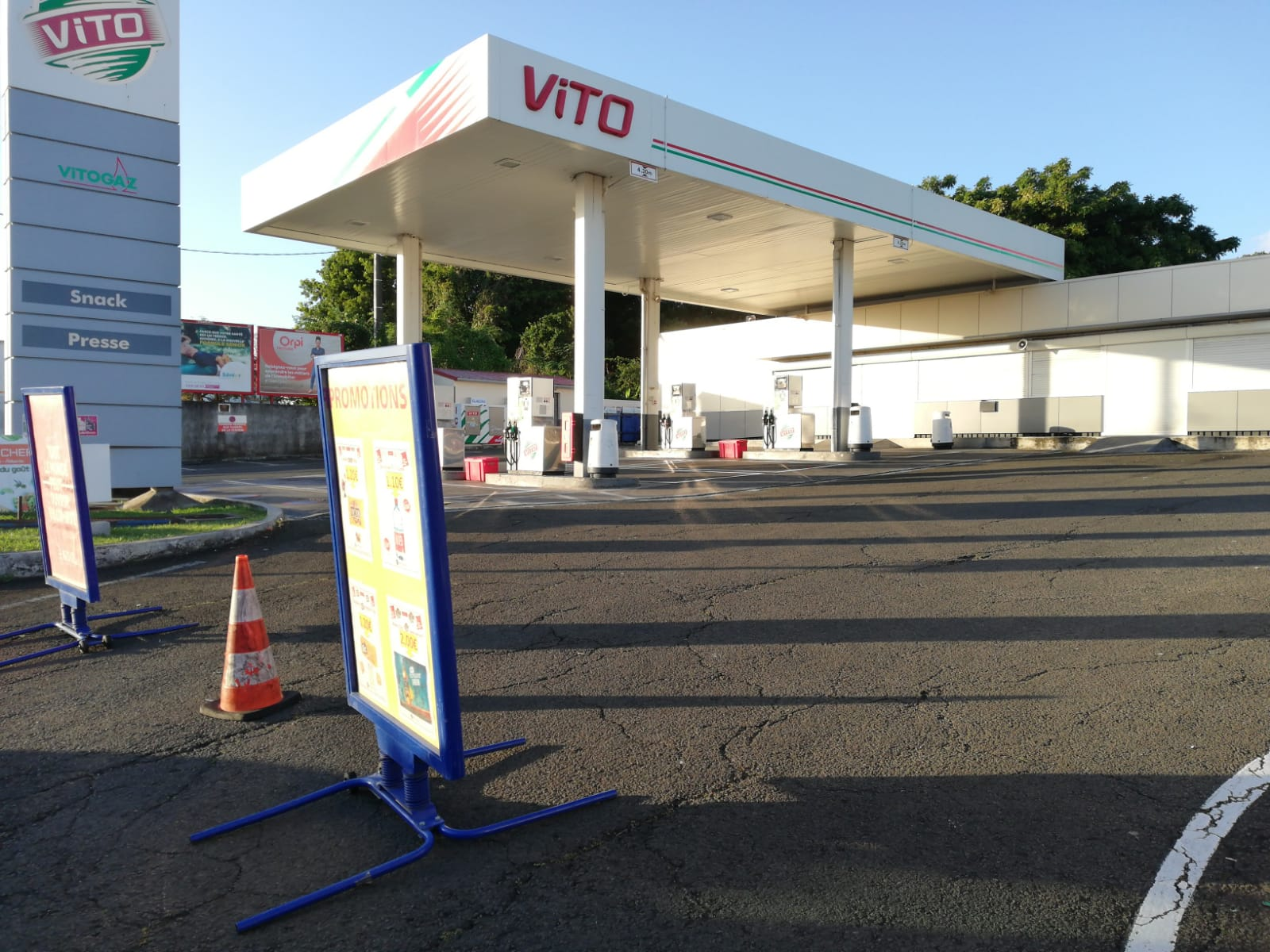 Le pompiste victime d'un malaise à la station Vito Cluny est décédé