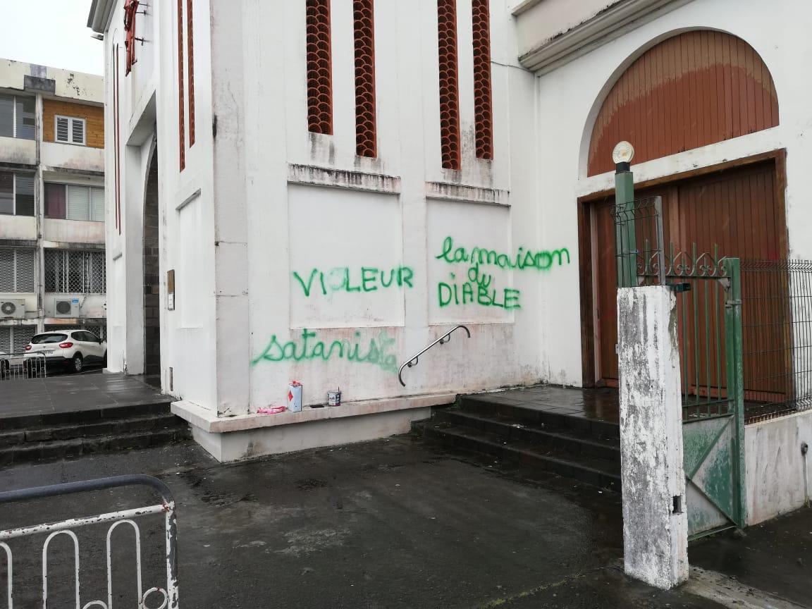 Des actes de vandalisme à l'église de Bellevue