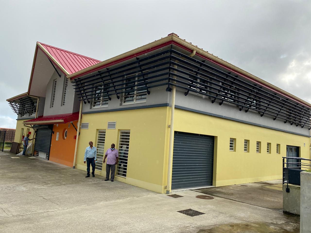 Un nouveau bâtiment bientôt inauguré à l'ESAT de Morne-Rouge