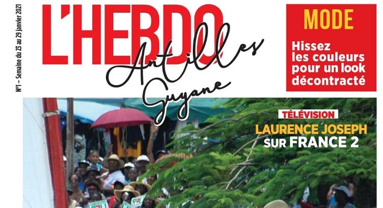 L'Hebdo Antilles-Guyane débarque dans les kiosques