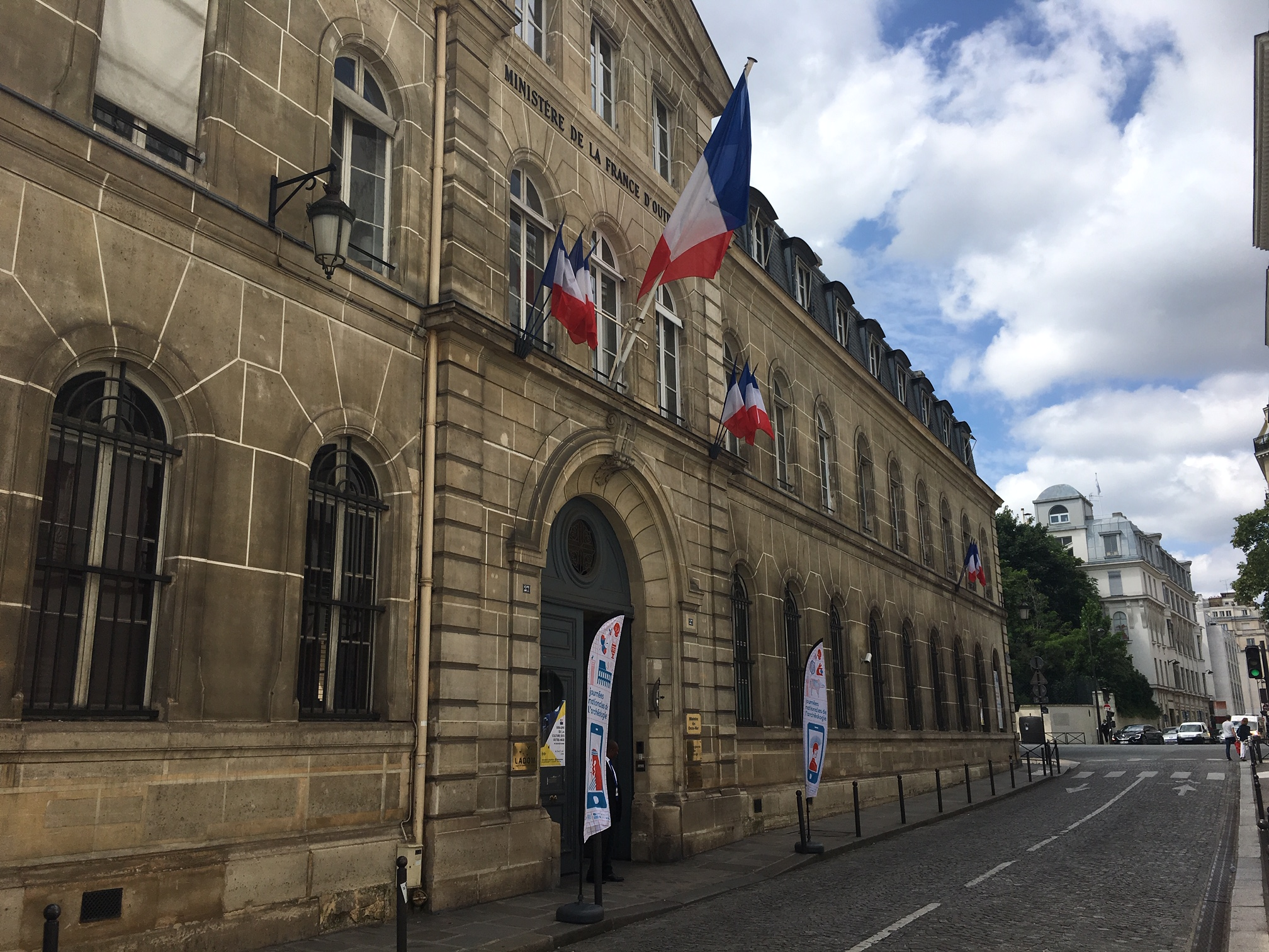 Peu de mobilisation à Paris pour la manifestation sur le chlordécone