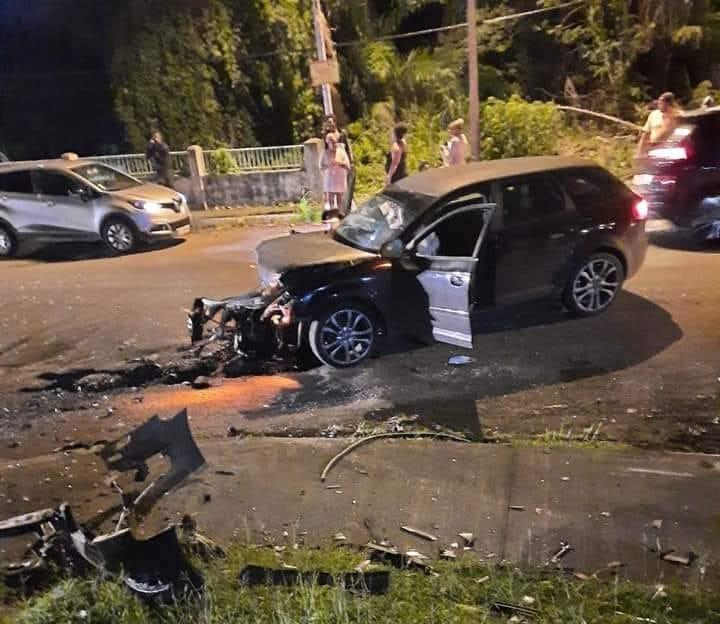 Un choc frontal fait plusieurs blessés à Capesterre Belle-Eau