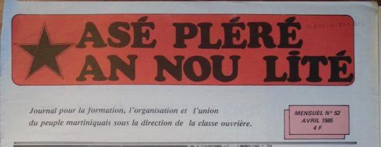 """Le journal """"Asé pléré an nou lité"""" fête ses 40 ans"""