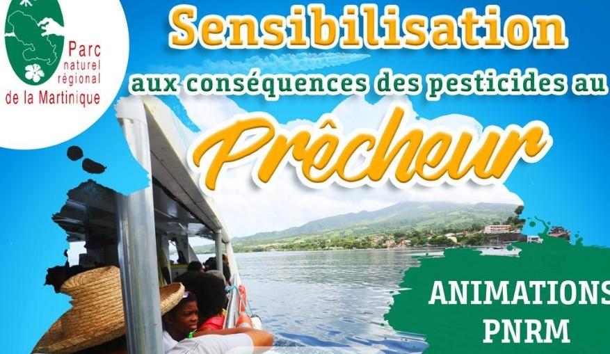 Une journée de sensibilisation à la lutte contre les pesticides au Prêcheur