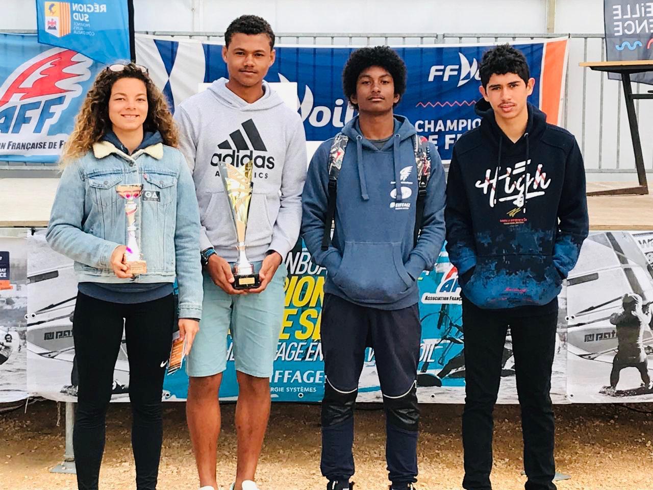 La jeune championne de windsurf Jamaïne Carlotti est décédée dans l'hexagone