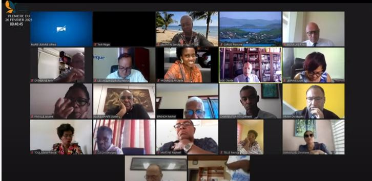 Deuxième journée de la plénière de l'Assemblée de Martinique