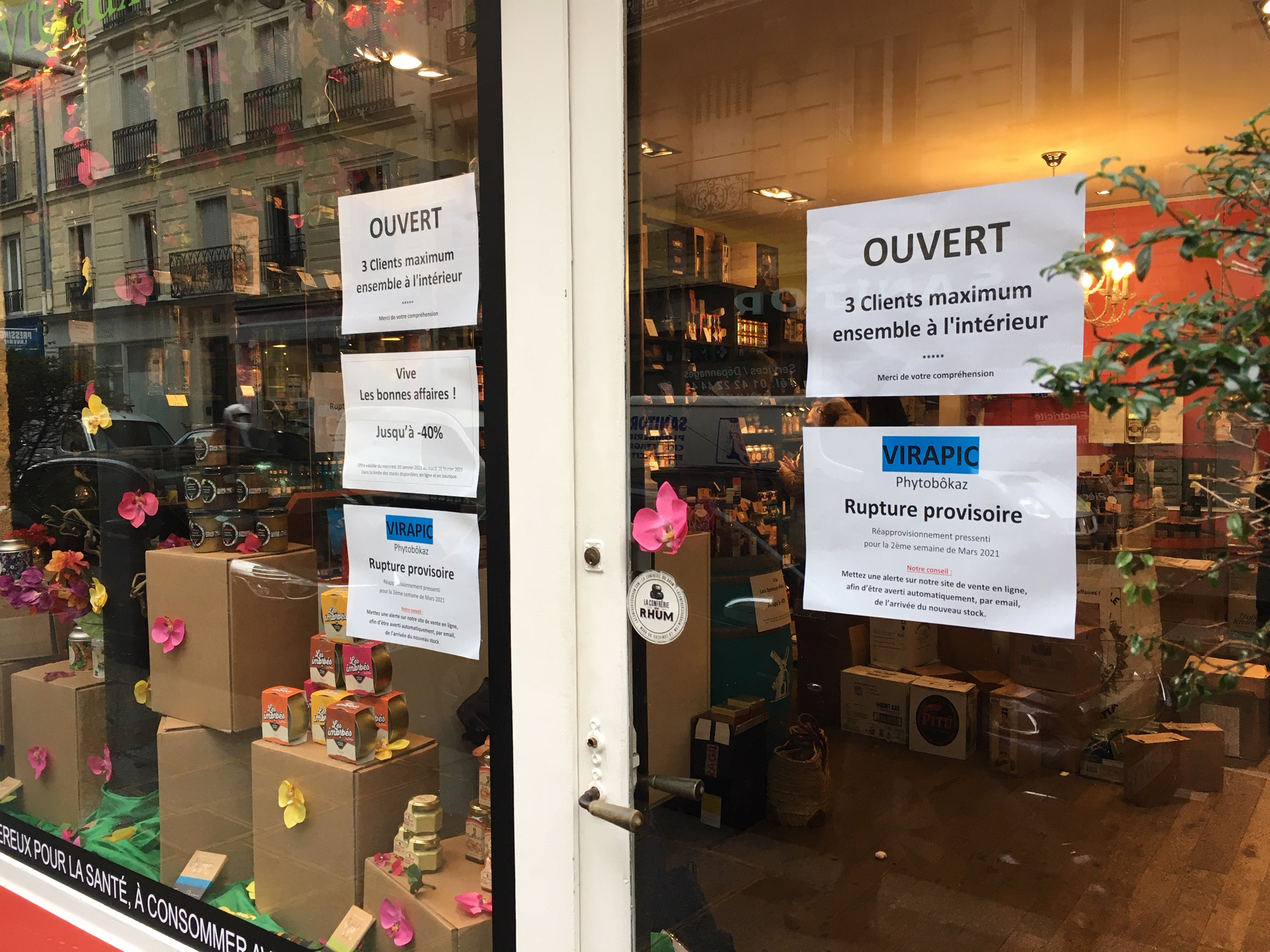 Paris : ruée sur le Virapic
