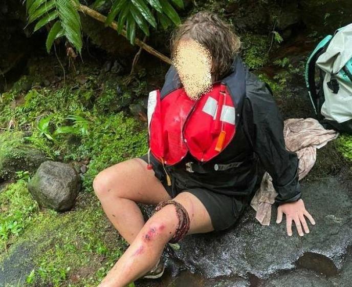 Nilla, la rescapée de Capesterre-Belle-Eau, témoigne