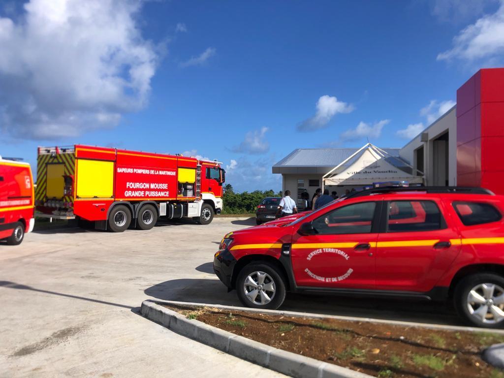 Une nouvelle caserne pour les pompiers du Vauclin