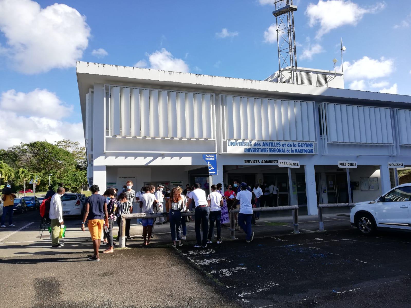 Double mobilisation à l'Université des Antilles