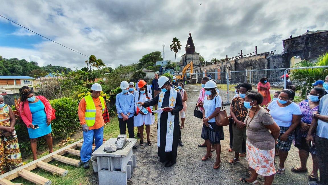 Un chantier de rénovation colossal pour l'église Saint Jean-Baptiste de Basse-Pointe