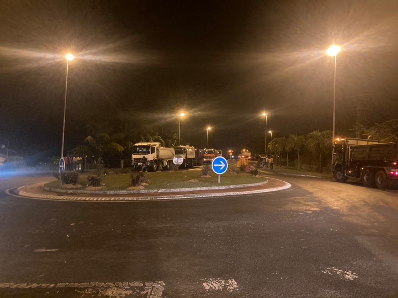 De nombreux axes routiers bloqués ce matin