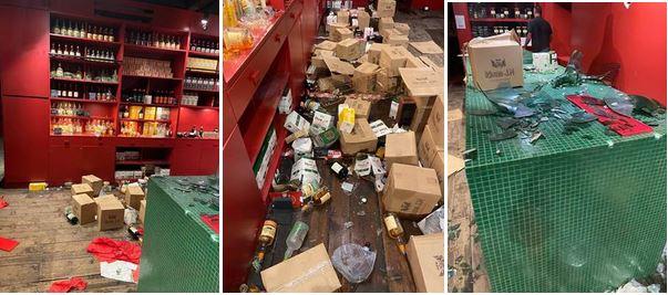 La distillerie JM fermée après le saccage de la boutique par des manifestants