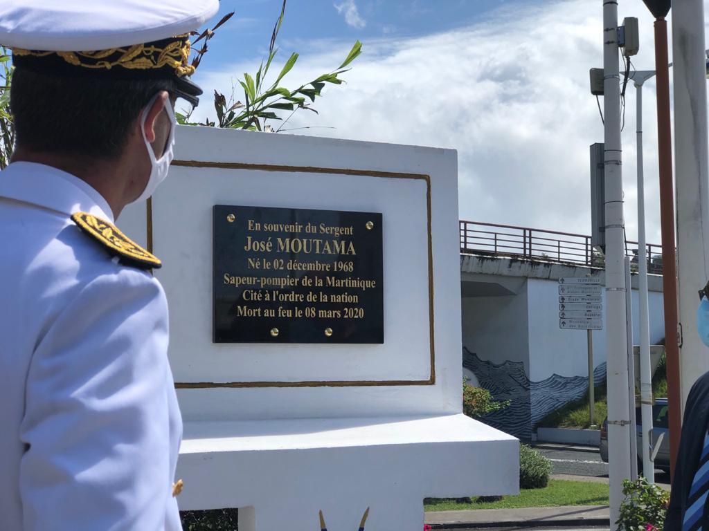 Hommage au sapeur-pompier volontaire José Moutama disparu il y a un an