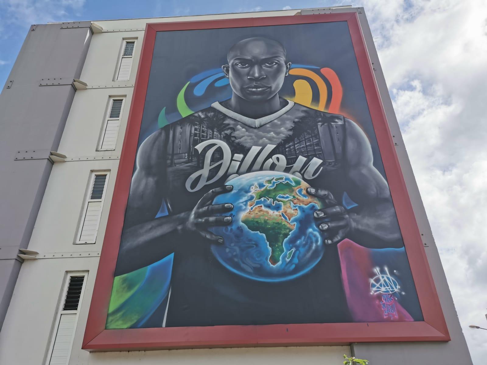 [VIDEO] De nouvelles fresques colorent les immeubles de la cité Dillon
