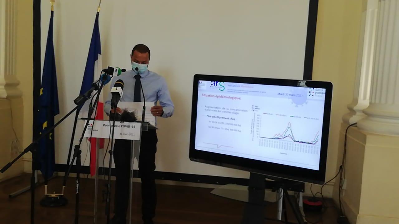 594 nouveaux cas de Covid-19 : hausse continue de l'épidémie en Martinique