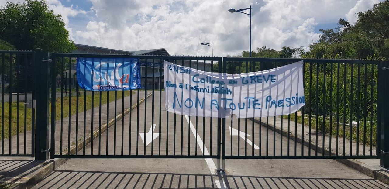 Grève au collège du Diamant : une réunion est prévue ce vendredi