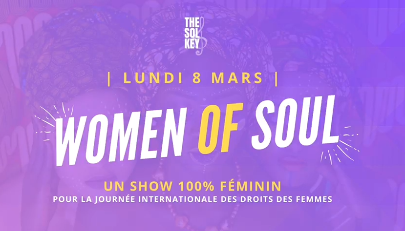 Women of Soul : une soirée met à l'honneur l'art et la scène au féminin
