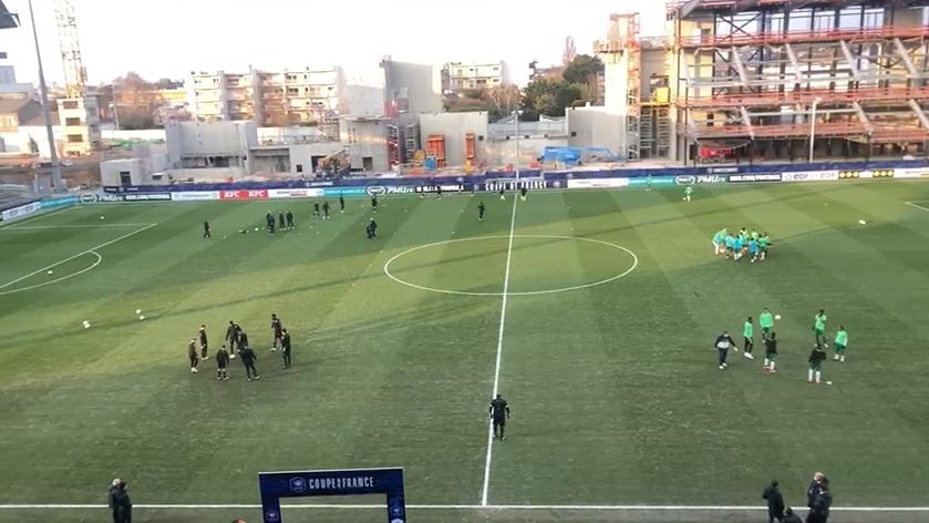 Coup d'envoi du match Club Franciscain - Angers SCO à suivre en direct sur RCI