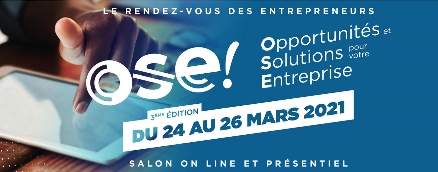 La troisième édition du salon Ose! se digitalise pour promouvoir l'entreprenariat en Martinique