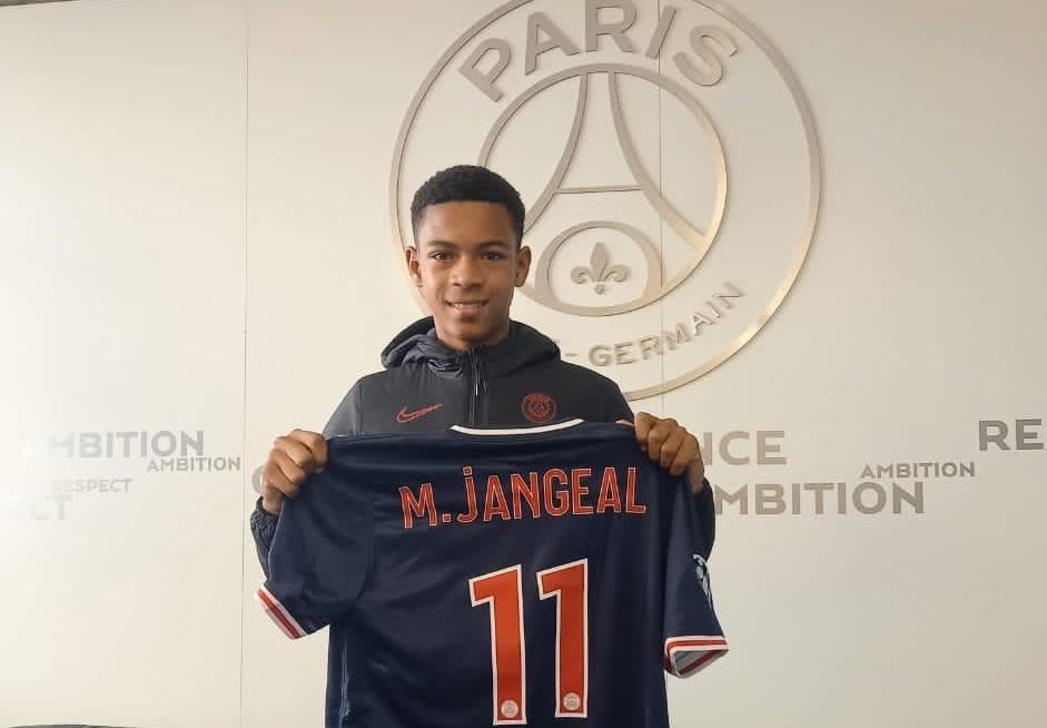 Le jeune martiniquais Mathis Jangeal intègre le centre de pré-formation du PSG