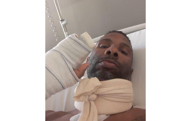 Mickaël Laurent sort de l'hôpital ce mardi
