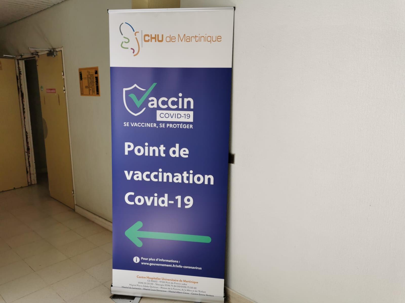 Accélération de la vaccination : 3500 doses supplémentaires pour la Martinique