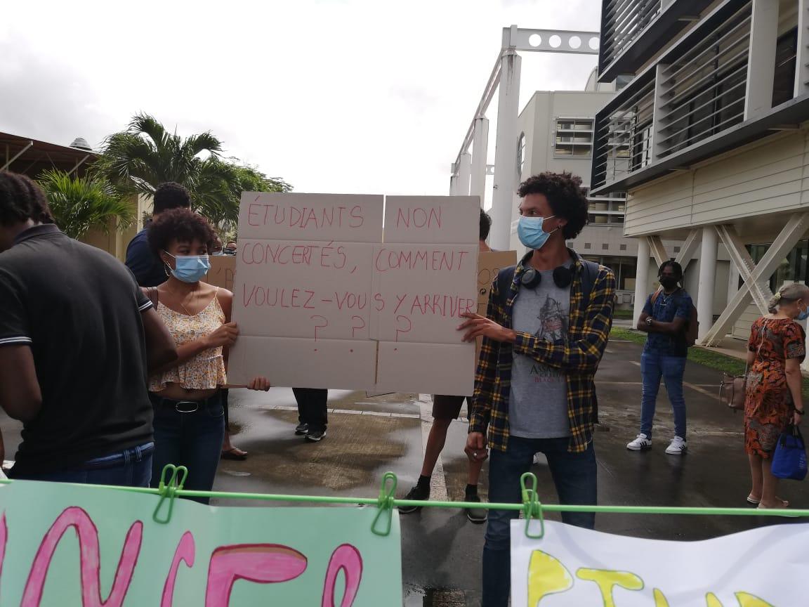 Mobilisation des enseignants et des étudiants de l'Université des Antilles