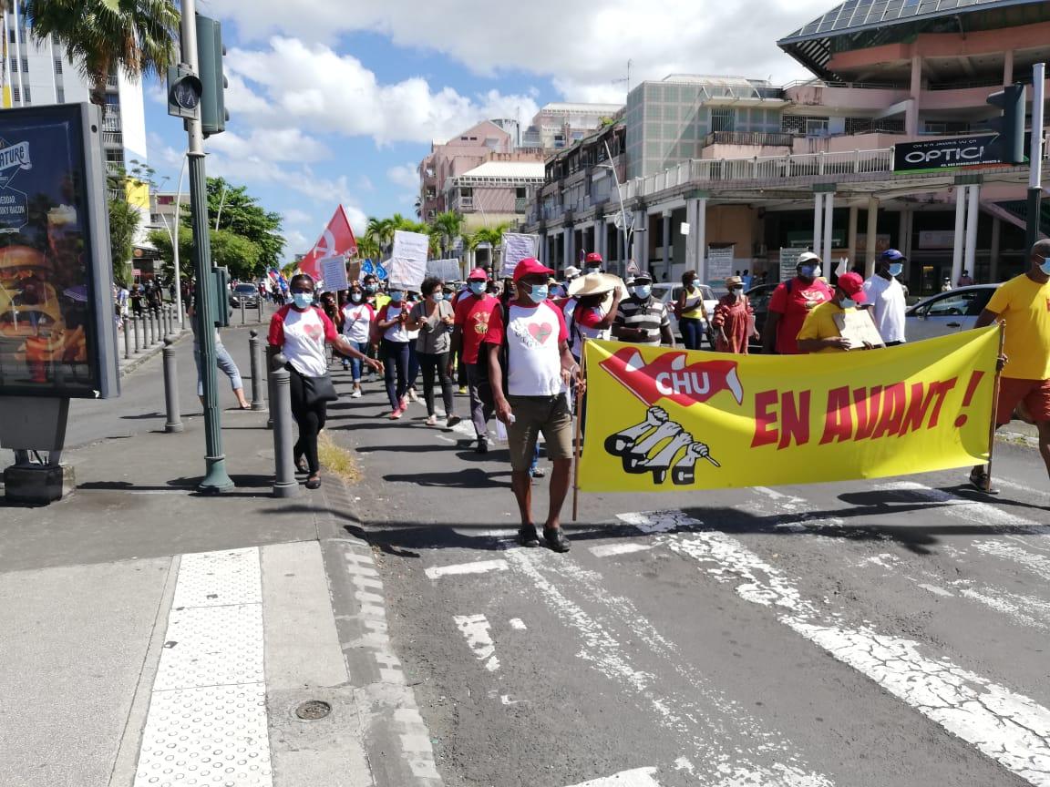 La mobilisation a réuni des milliers de personnes dans les rues pointoises