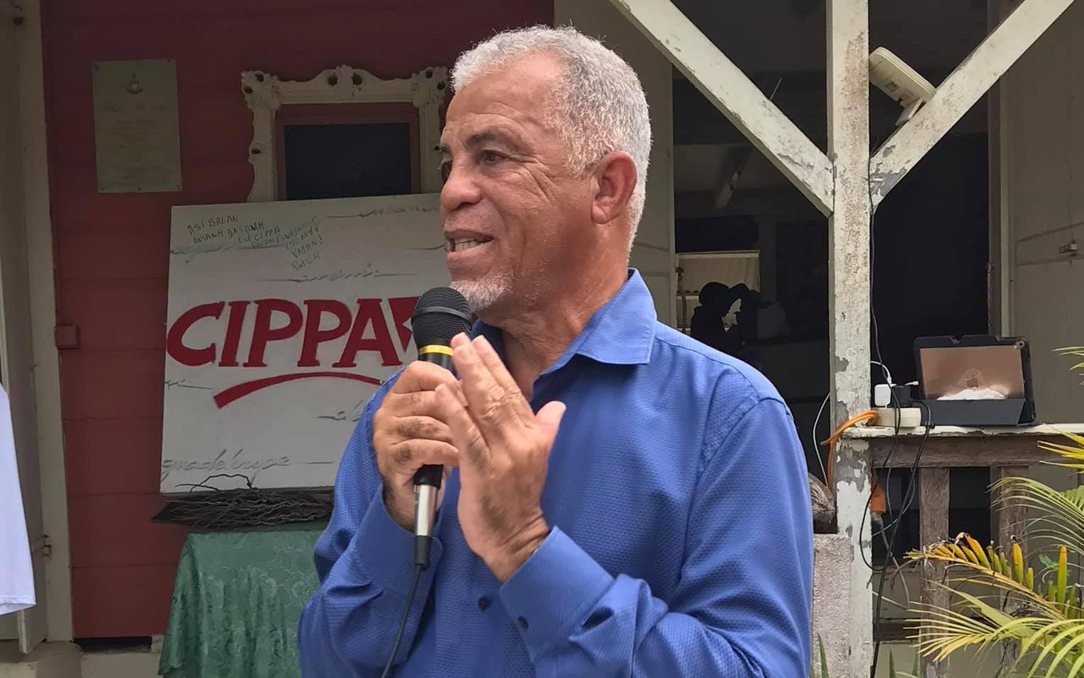 Alain Plaisir, tête de liste du CIPPA aux élections régionales