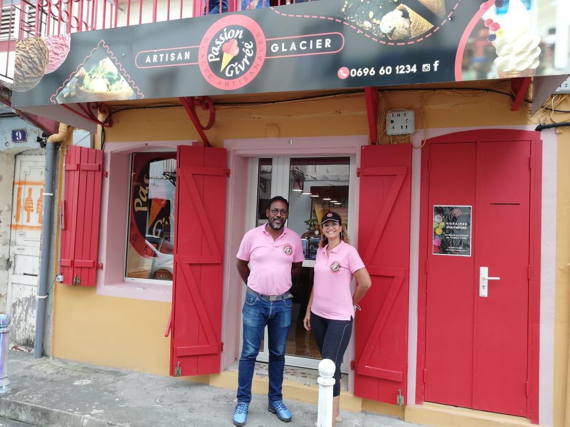 """Une boutique """"Passion Givrée"""" ouvre ses portes à Fort-de-France pour tous les gourmands"""