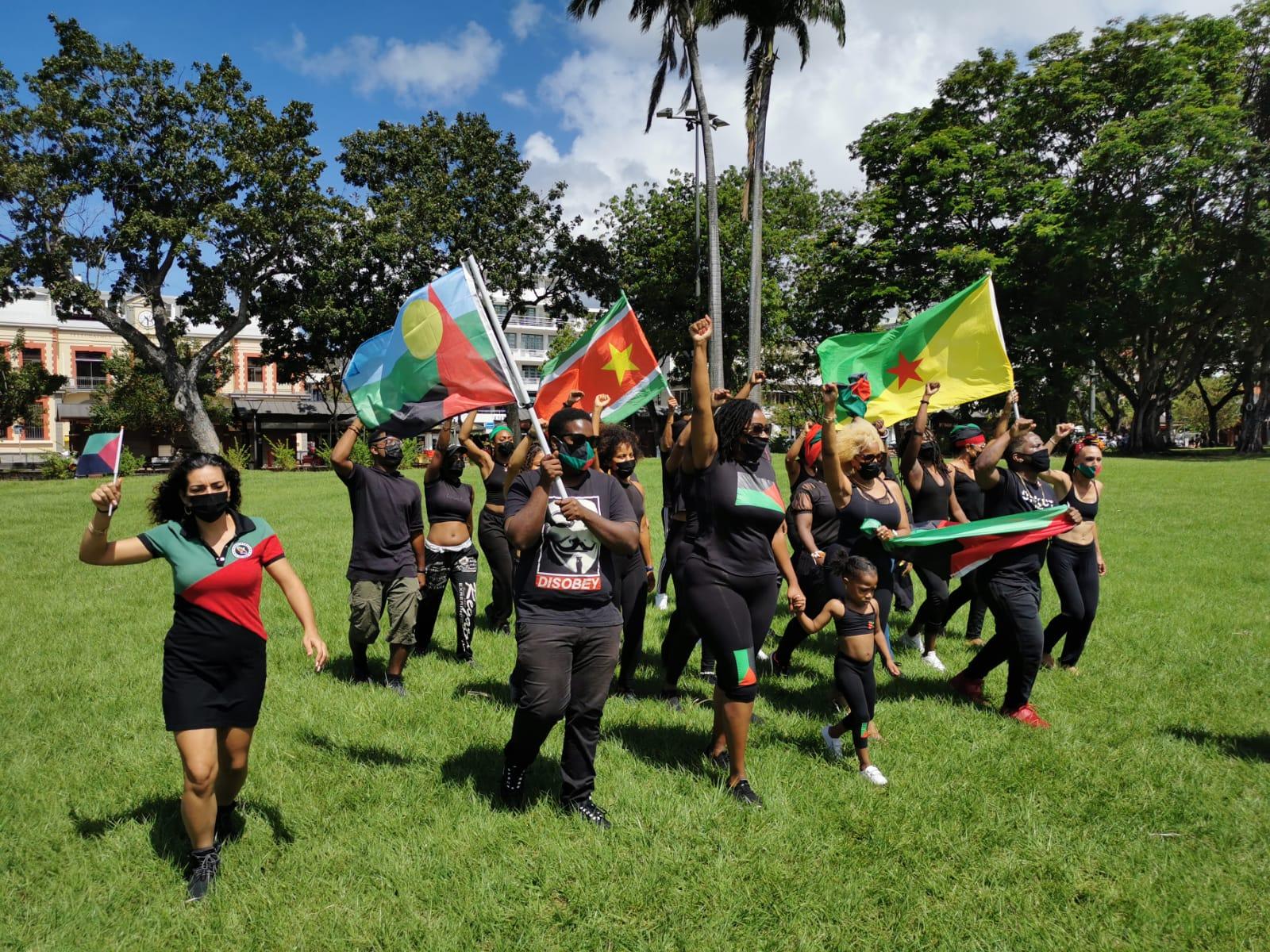 Danser pour protester contre un non-lieu dans le dossier du chlordécone