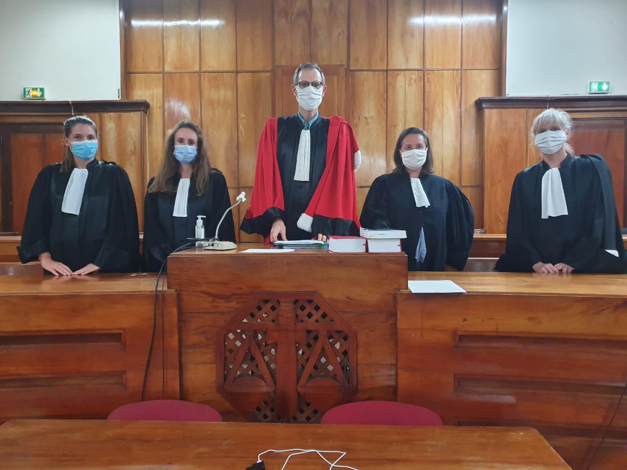 Premier procès de la Cour Criminelle de Guadeloupe
