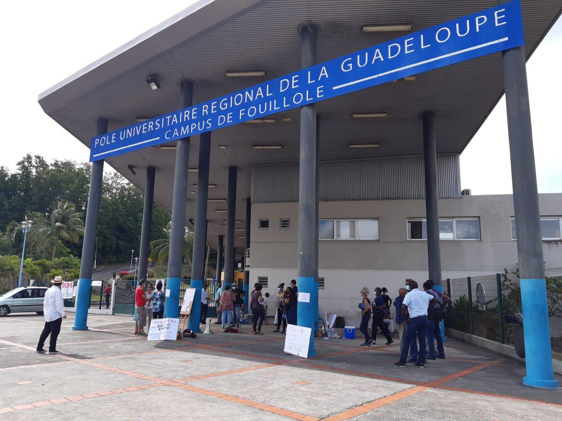 La mobilisation se poursuit à l'Université des Antilles