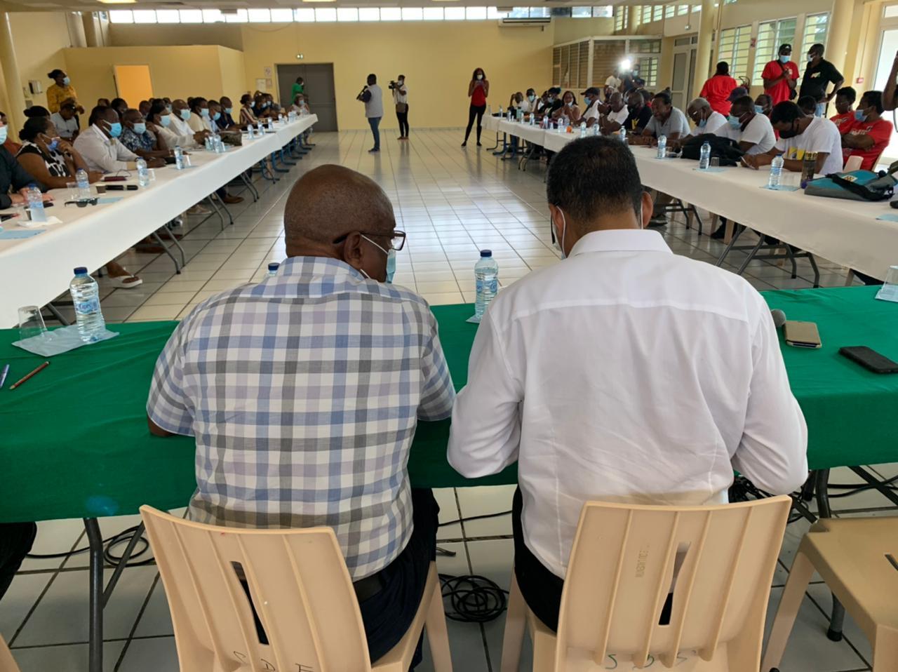 Les discussions coincent toujours entre l'UTC UGTG et les collectivités