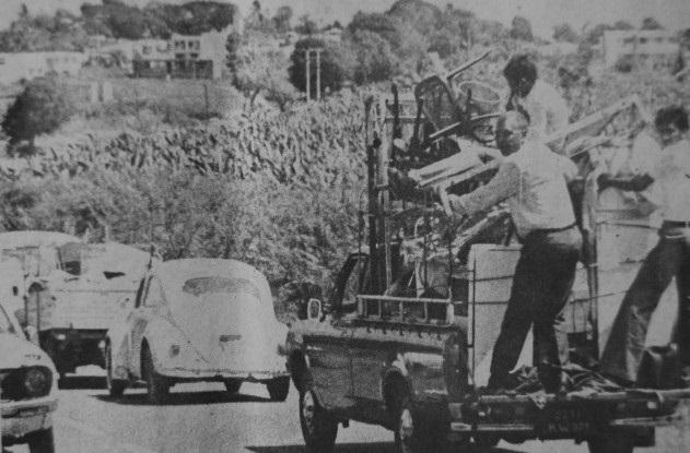 Eruption volcanique: contraints d'évacuer en 1976, ils se souviennent