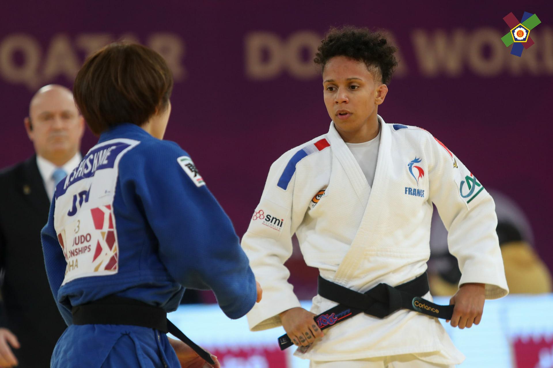 La judokate martiniquaise Amandine Buchard sélectionnée pour les J.O. de Tokyo