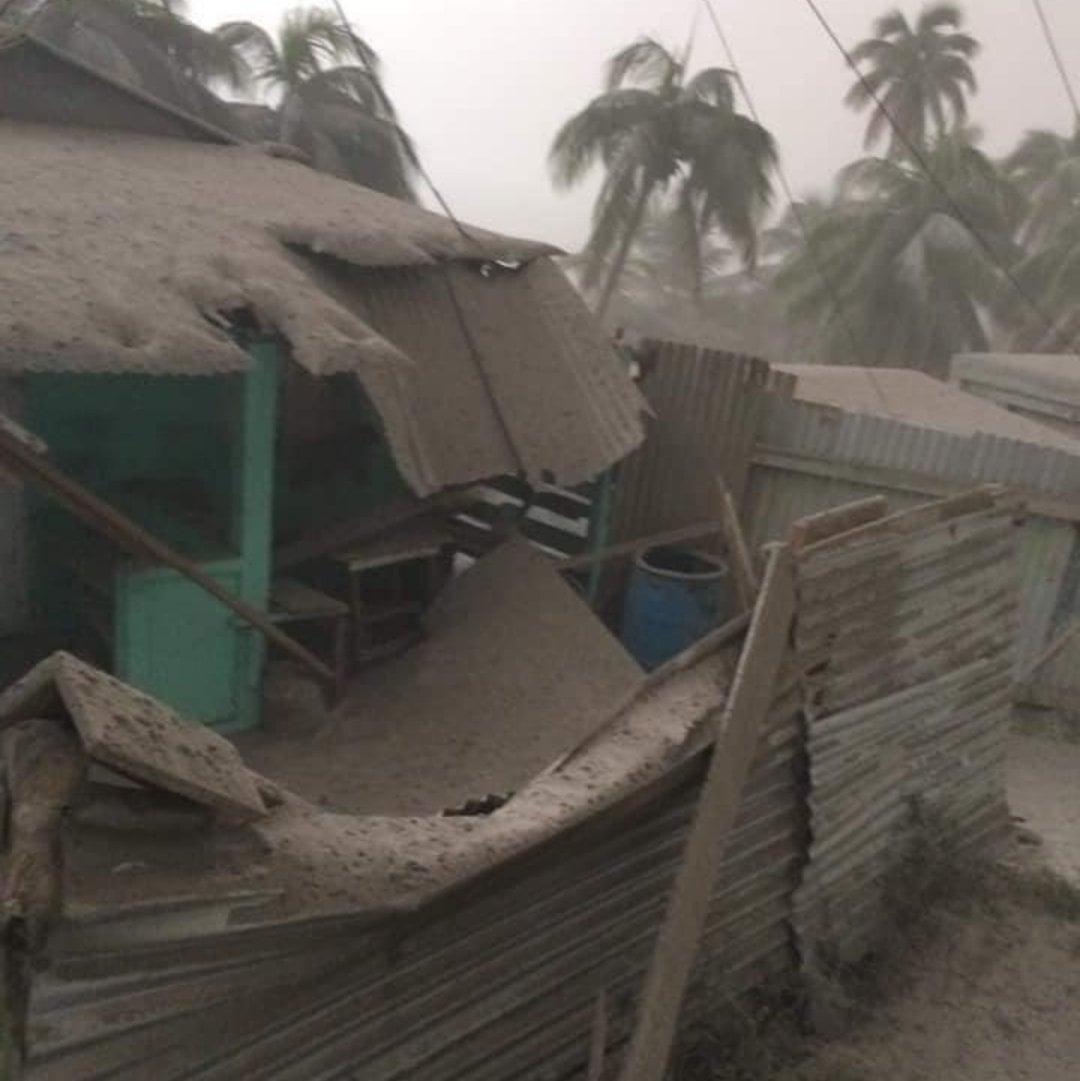 Orage volcanique et panne générale d'électricité à Saint-Vincent
