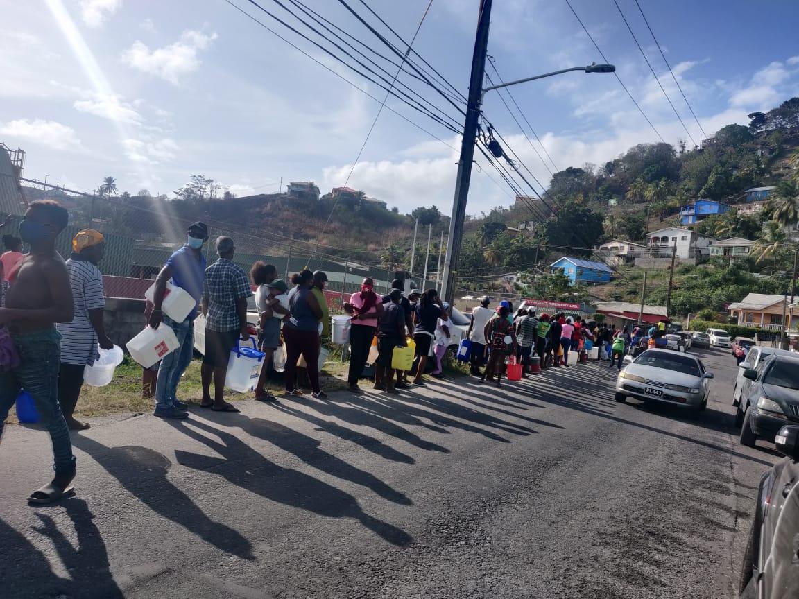 [VIDEO] Saint-Vincent et les Grenadines en proie à une pénurie d'eau potable
