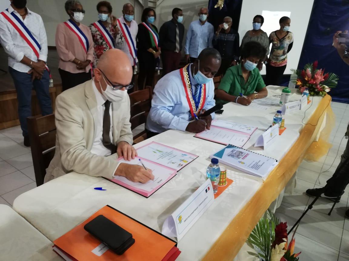 Un programme d'action et de prévention des inondations signé pour Rivière-Pilote