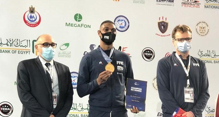 Le martiniquais Kendrick Jean-Joseph sacré champion du monde junior d'Escrime