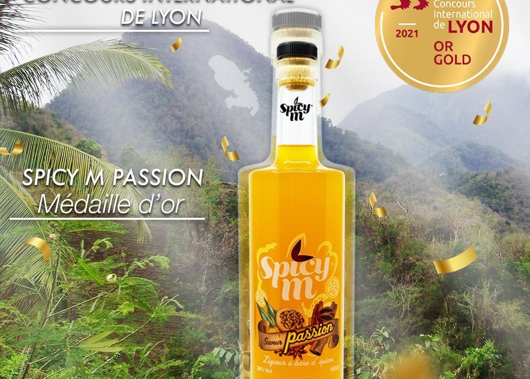 La liqueur martiniquaise Spicy M décroche une médaille d'or